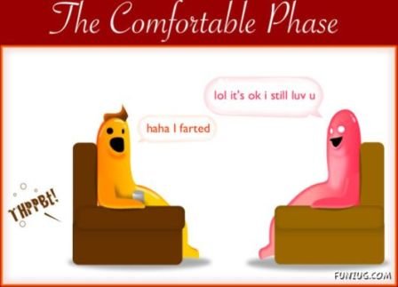 Dating Phase 3 - The Comfortable Phase